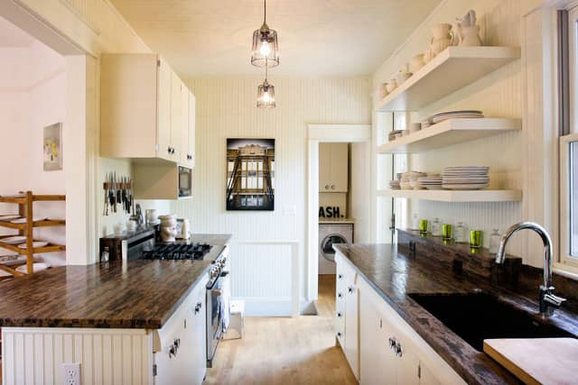 Paige's Rustic Schoolhouse-Inspired Colorado Kitchen & Dining Room: gallery image 1