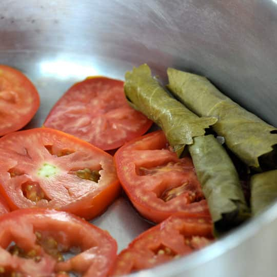 How To Make Stuffed Grape Leaves (Dolmades): gallery image 10