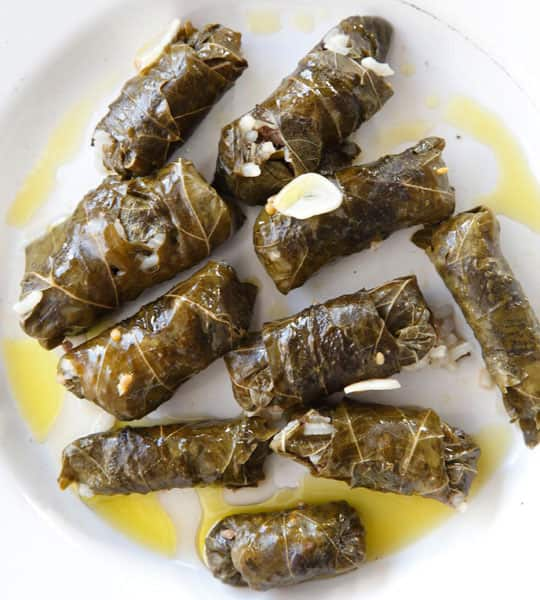 How To Make Stuffed Grape Leaves (Dolmades): gallery image 1