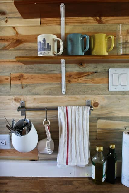 Christopher & Merete's Truly Tiny Kitchen on the Colorado Range: gallery image 2