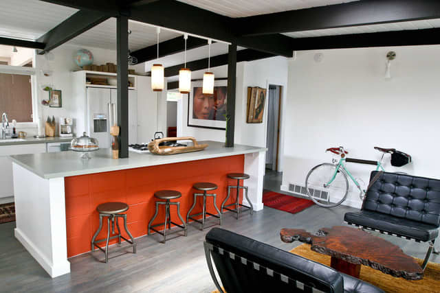 """Jessica and Jonathan's """"Cook Together In Front of the Fireplace"""" Kitchen: gallery image 7"""