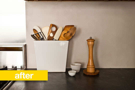 Kitchen Before & After: Amanda Hesser's Budget Kitchen Makeover: gallery image 2