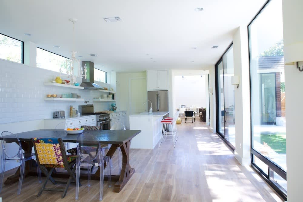 Jeanine & Jack's Zesty White Kitchen: gallery image 2
