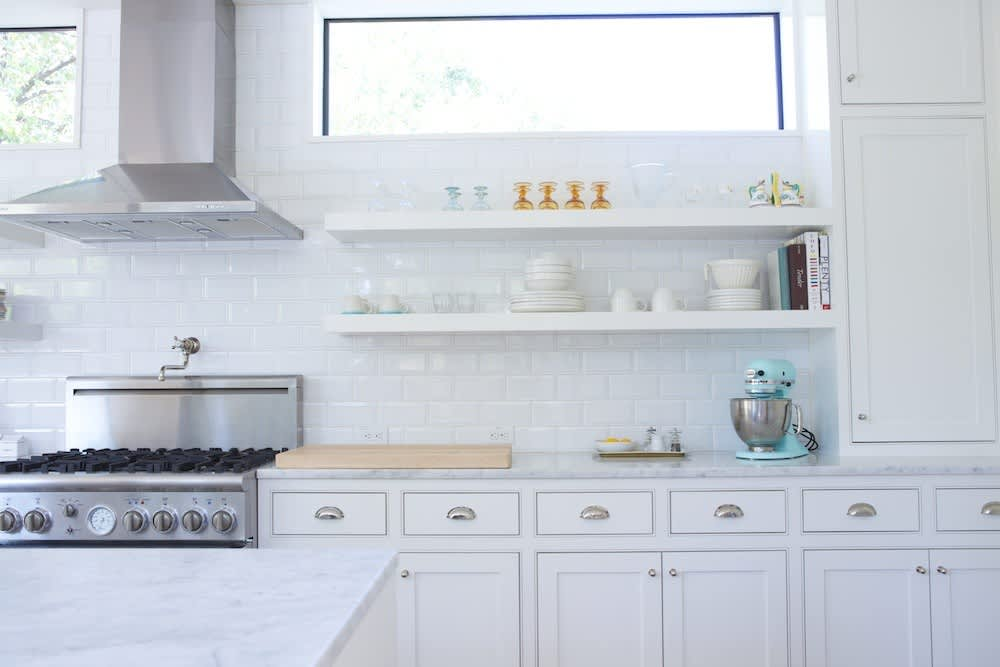 Jeanine & Jack's Zesty White Kitchen: gallery image 4