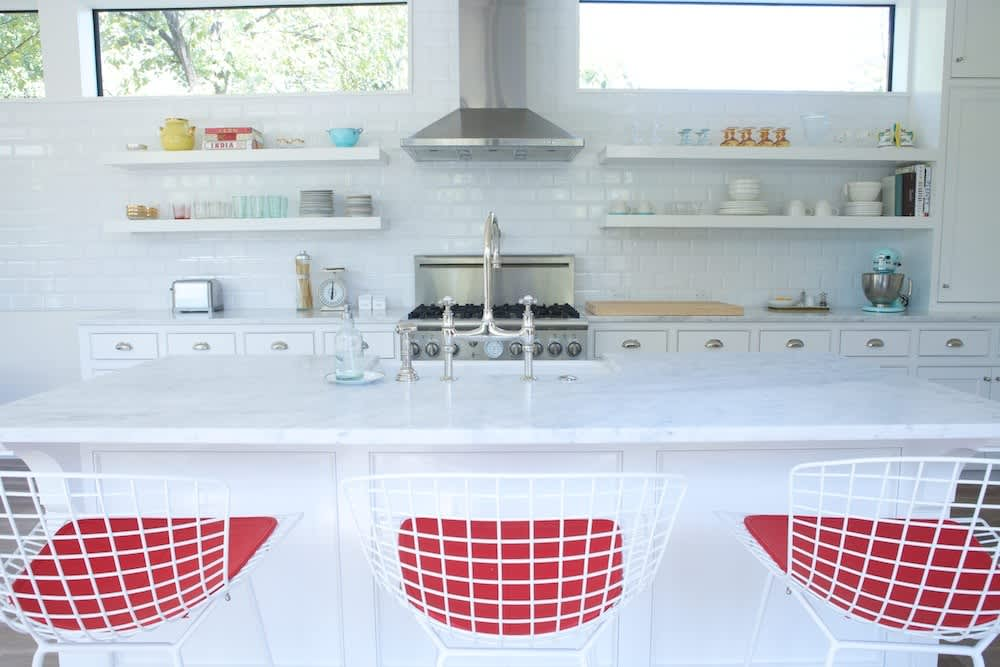Jeanine & Jack's Zesty White Kitchen: gallery image 3