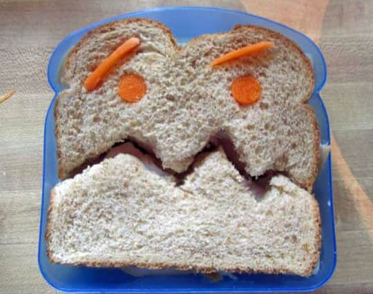 Sandwich Art: A Mom's Awesome School Lunch Project: gallery image 8