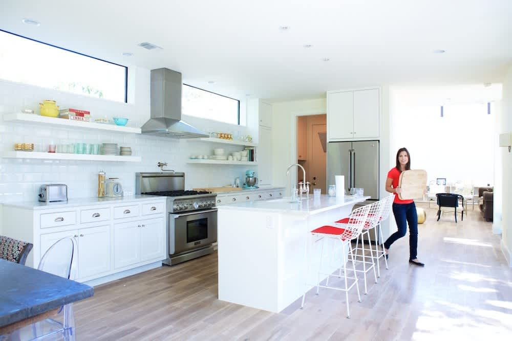 Jeanine & Jack's Zesty White Kitchen: gallery image 1