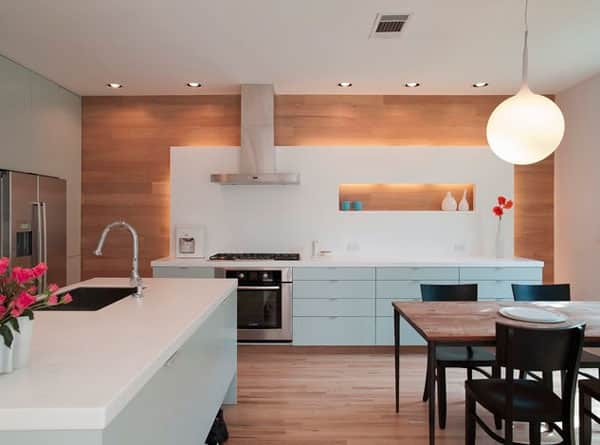 10 Kitchens Without Upper Cabinets: gallery image 5