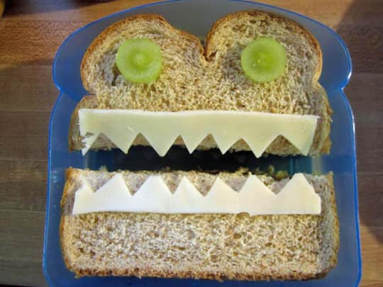 Sandwich Art: A Mom's Awesome School Lunch Project: gallery image 1