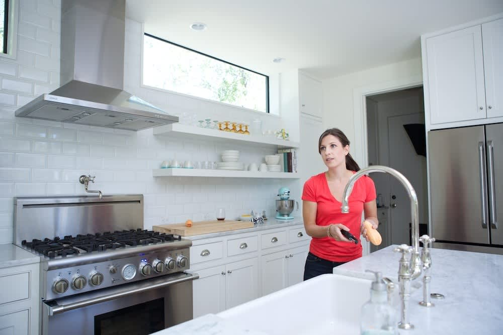 Jeanine & Jack's Zesty White Kitchen: gallery image 18