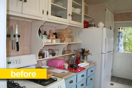 Kitchen Before & After: Kathryn's Sonoma Garden Kitchen Makeover: gallery image 1