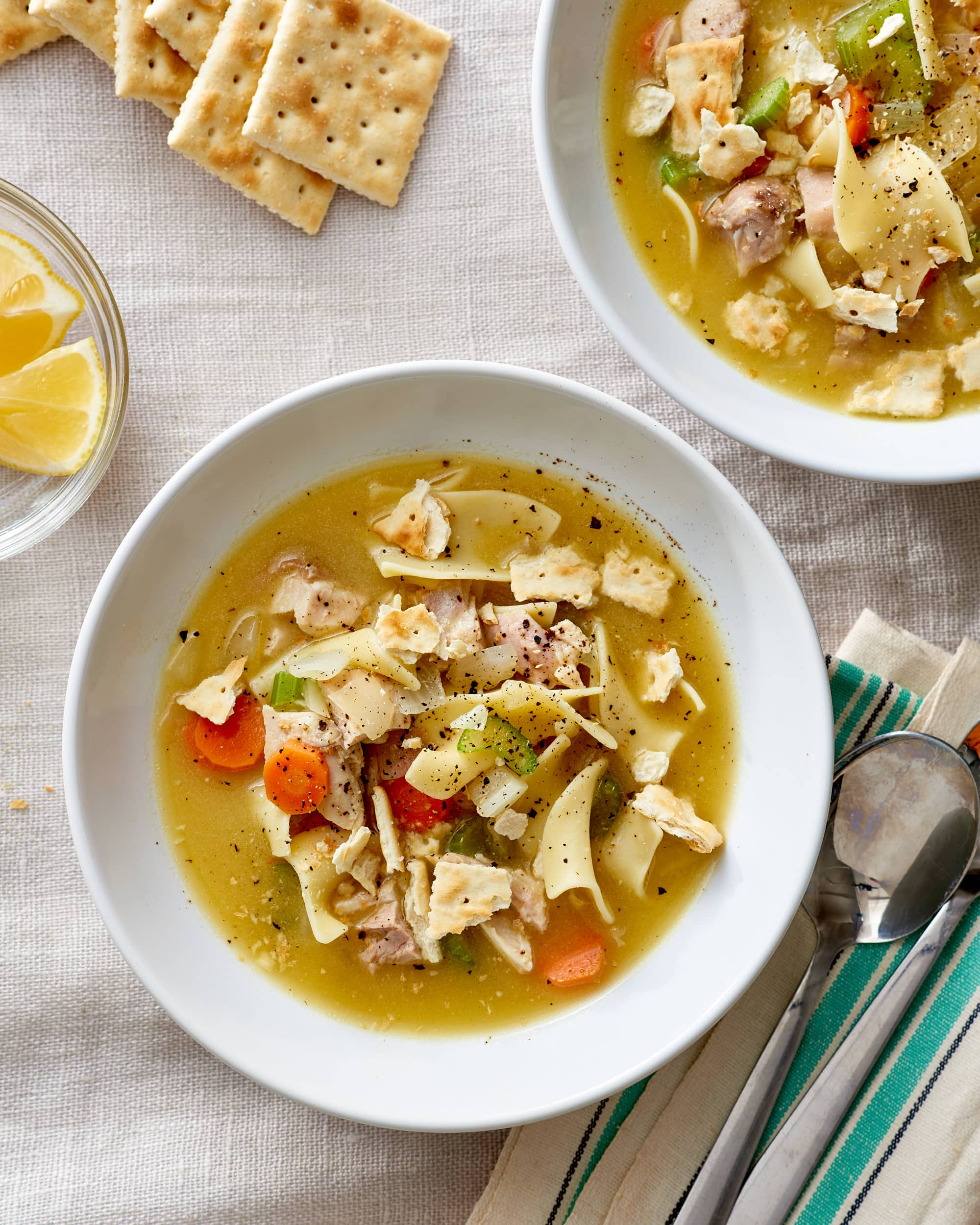 The Best Easy Homemade Chicken Noodle Soup Recipe