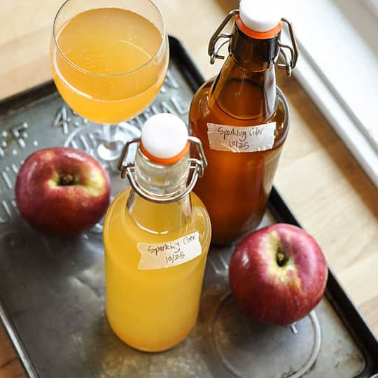 How To Make Sparkling Cider with Just 2 Ingredients: gallery image 1