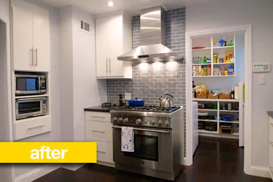 Kitchen Before & After: Julie's Outdated Kitchen Gets a Modern Makeover: gallery image 2