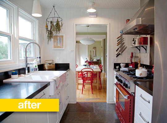Kitchen Before & After: Kathryn's Sonoma Garden Kitchen Makeover: gallery image 4