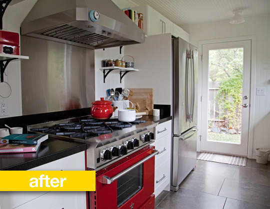 Kitchen Before & After: Kathryn's Sonoma Garden Kitchen Makeover: gallery image 2