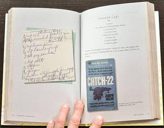 Handwritten Recipes by Michael Popek: gallery image 4