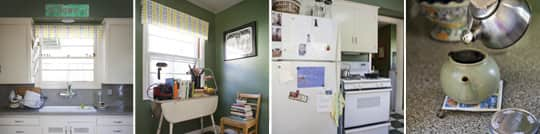 Garden Writer Willi Galloway's Resourceful, Reclaimed Rental Kitchen: gallery image 18