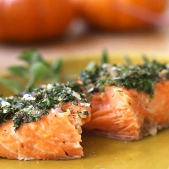 Recipe: Baked Salmon with Herbs & Lemon: gallery image 5