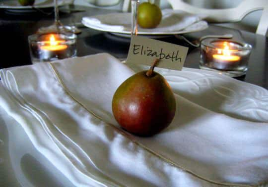 Decorate Naturally: Fall Fruit Place Cards: gallery image 2