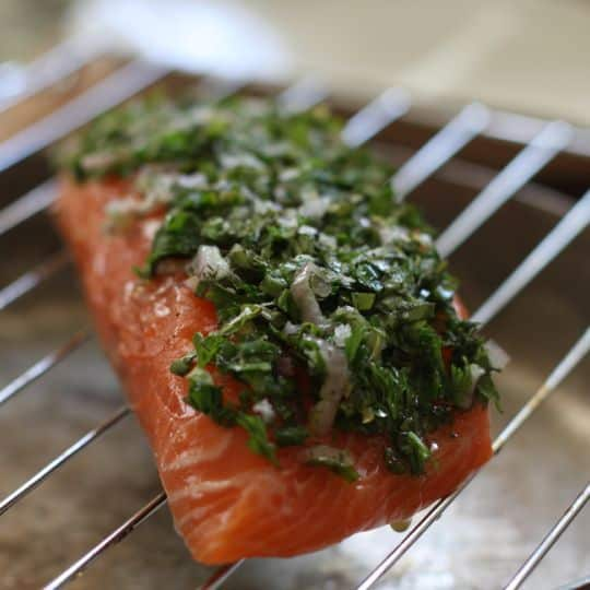 Recipe: Baked Salmon with Herbs & Lemon: gallery image 4