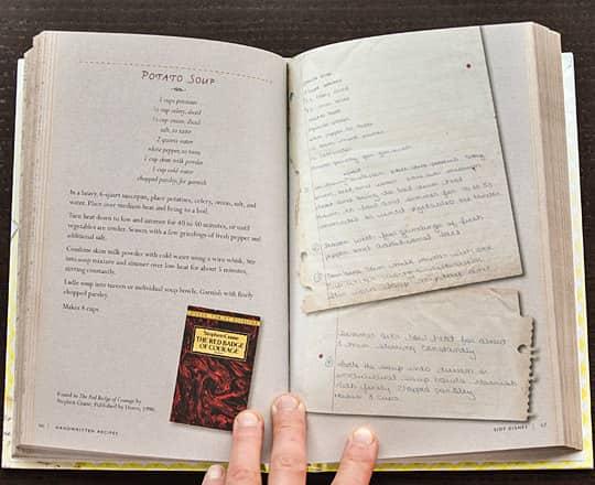Handwritten Recipes by Michael Popek: gallery image 3