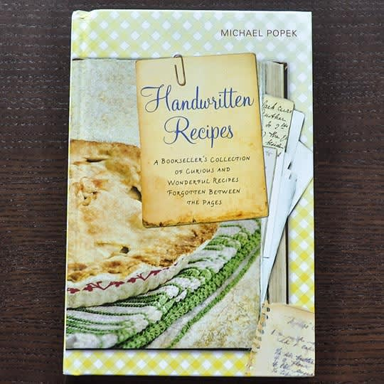Handwritten Recipes by Michael Popek: gallery image 1