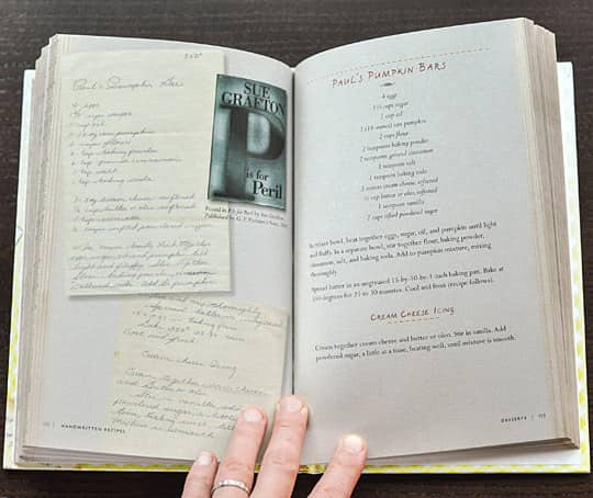 Handwritten Recipes by Michael Popek: gallery image 5