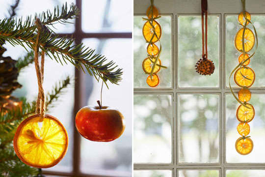 Naturally Festive: Holiday Decorating with Oranges and Clementines: gallery image 1