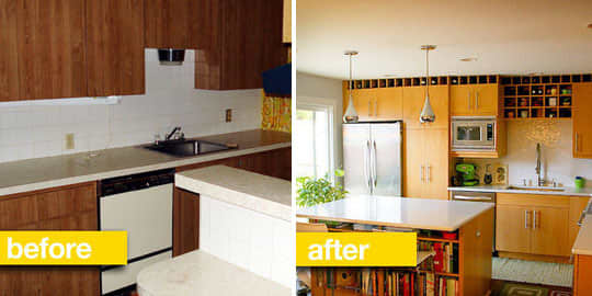 Before & After Transformations: 15 Fantastic Kitchen Makeovers: gallery image 14