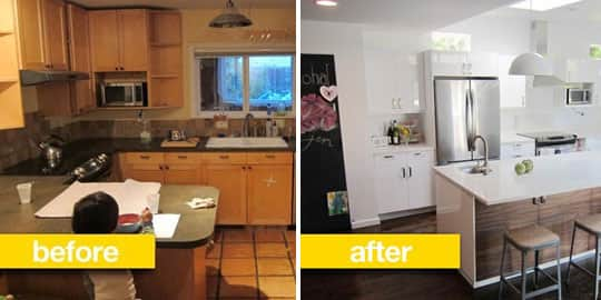Before & After Transformations: 15 Fantastic Kitchen Makeovers: gallery image 8