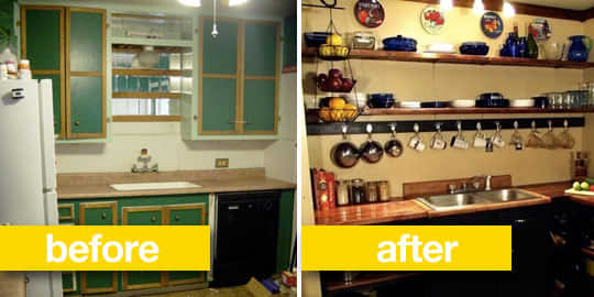 Before & After Transformations: 15 Fantastic Kitchen Makeovers: gallery image 9
