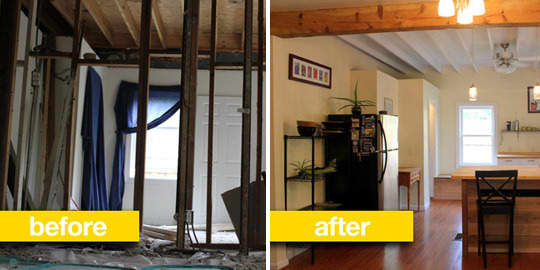 Before & After Transformations: 15 Fantastic Kitchen Makeovers: gallery image 2