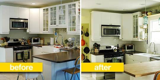 Before & After Transformations: 15 Fantastic Kitchen Makeovers: gallery image 12