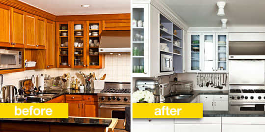 Before & After Transformations: 15 Fantastic Kitchen Makeovers: gallery image 1