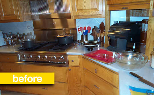 Kitchen Before & After: A Kitchen Keeps Its Footprint, But Gets An Updated Look: gallery image 6