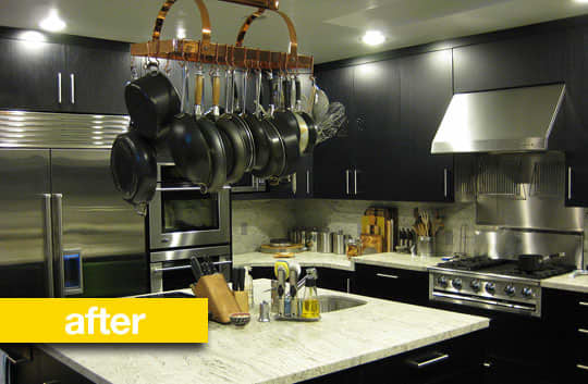 Kitchen Before & After: A Kitchen Keeps Its Footprint, But Gets An Updated Look: gallery image 1