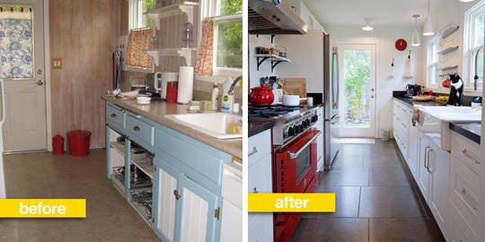 Before & After Transformations: 15 Fantastic Kitchen Makeovers: gallery image 4