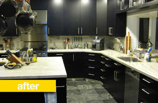 Kitchen Before & After: A Kitchen Keeps Its Footprint, But Gets An Updated Look: gallery image 3