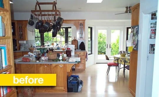Kitchen Before & After: A Kitchen Keeps Its Footprint, But Gets An Updated Look: gallery image 2