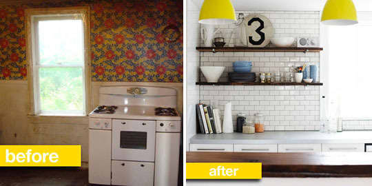 Before & After Transformations: 15 Fantastic Kitchen Makeovers: gallery image 11
