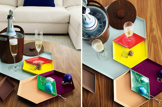 For Colorful Entertaining: Modular, Stackable and Nestable Kaleido Trays: gallery image 1