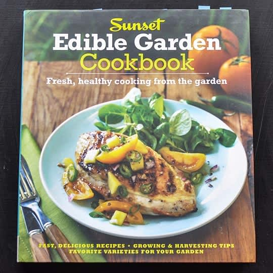 Sunset Edible Garden Cookbook: gallery image 1