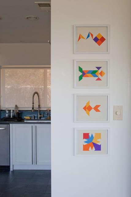 Alan's Clean Blue Kitchen: gallery image 2