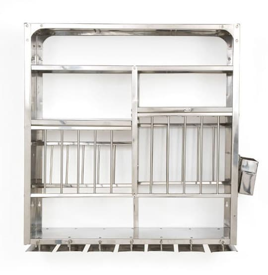 A Luxury Item for Small Kitchens: A Stainless Steel Wall-Mounted Dish Rack: gallery image 5