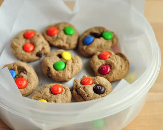 M&M'S® Peanut Butter Brownies Recipe & More Desserts for the Big Game: gallery image 1