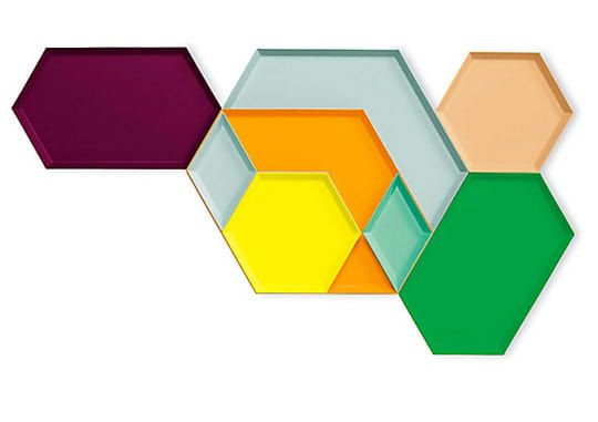For Colorful Entertaining: Modular, Stackable and Nestable Kaleido Trays: gallery image 2