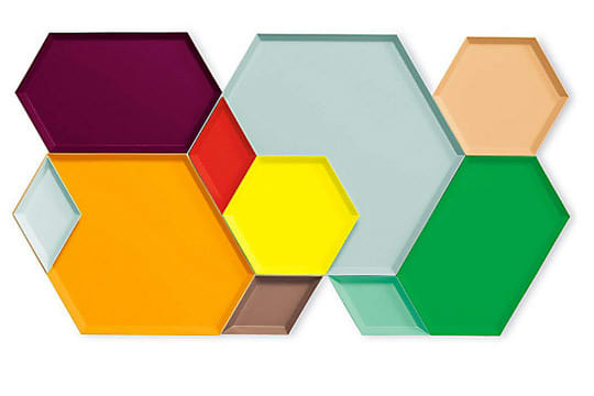For Colorful Entertaining: Modular, Stackable and Nestable Kaleido Trays: gallery image 3