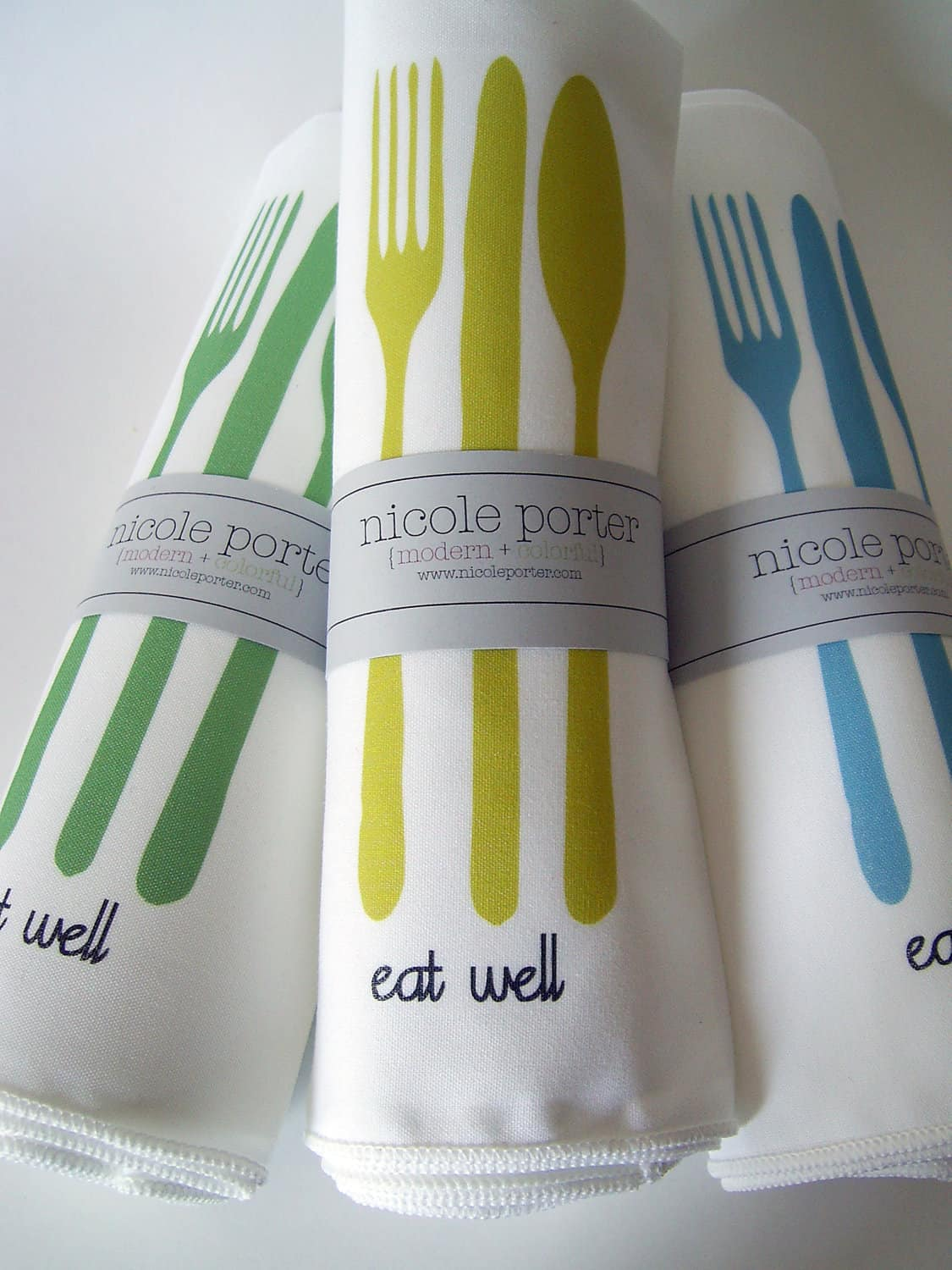 All Things Bright & Neon: Fun Wood Tableware from Nicole Porter Design: gallery image 7