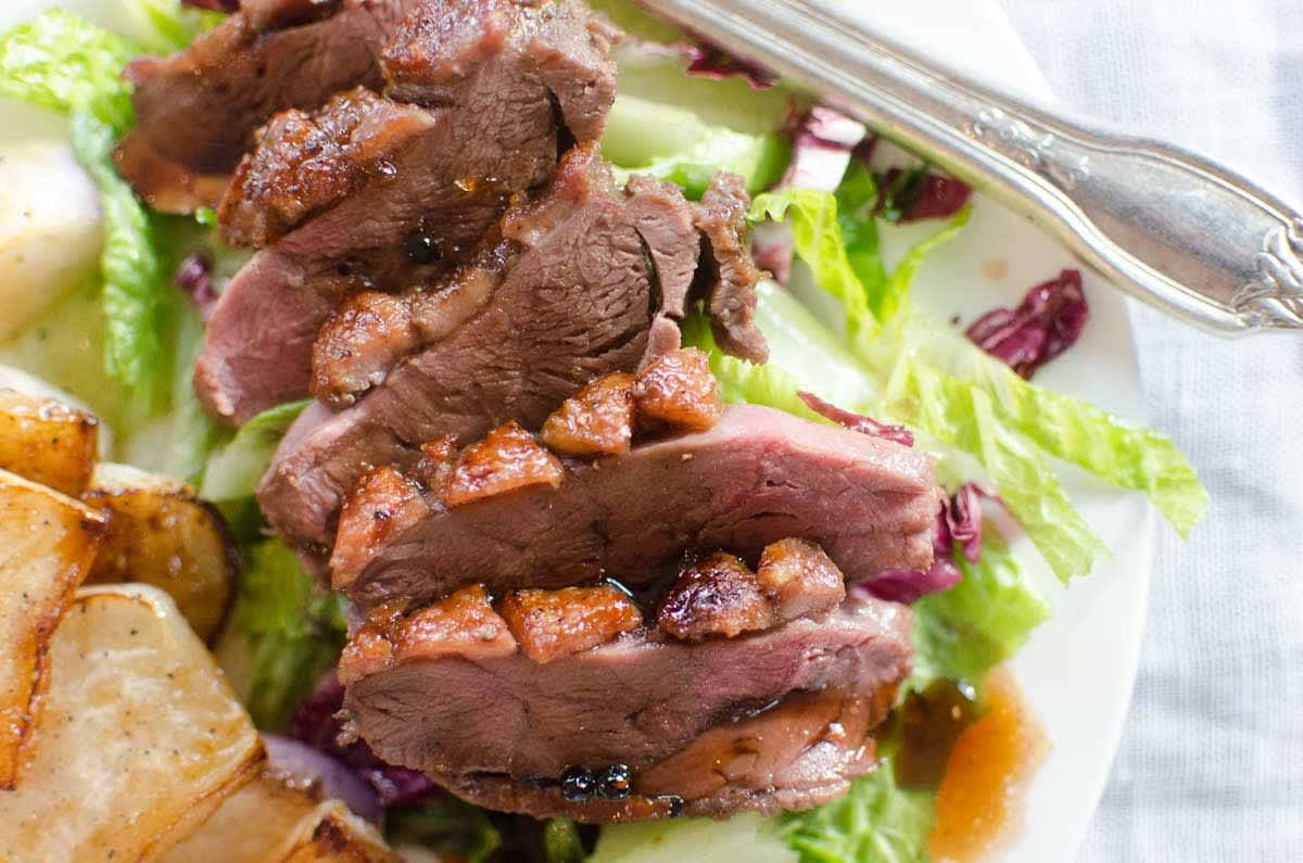 Dinner Recipe for Two: Duck Breast with Pomegranate-Citrus Glaze: gallery image 10